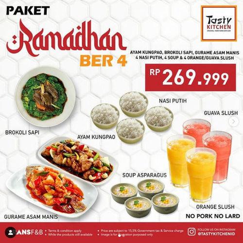 Tasty Kitchen Ramadhan Ber-4 (29935480) di Kota Jakarta Selatan