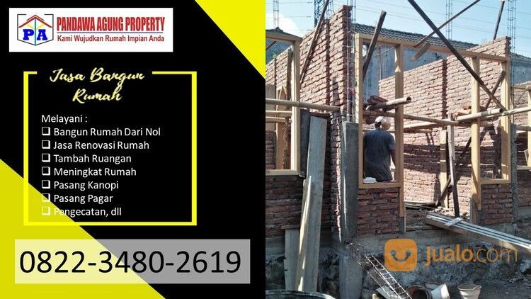 TERMURAH | 0822-3480-2619 | Biaya Bangun Rumah Dengan Kontraktor Di Blitar, (29946344) di Kota Blitar