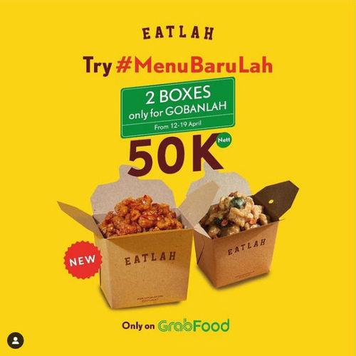 Eatlah 2 boxes only for Gobanlah (29948115) di Kota Jakarta Selatan