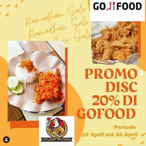 Golden Chicken Promo Disc 20% (29948279) di Kota Palembang