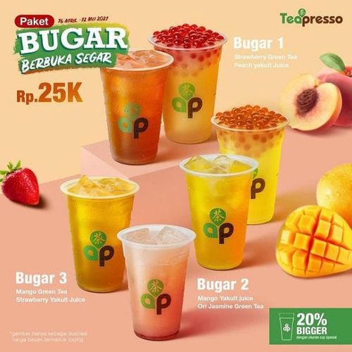 Teapresso Paket Bugar Berbuka Segar (29950758) di Kota Jakarta Selatan