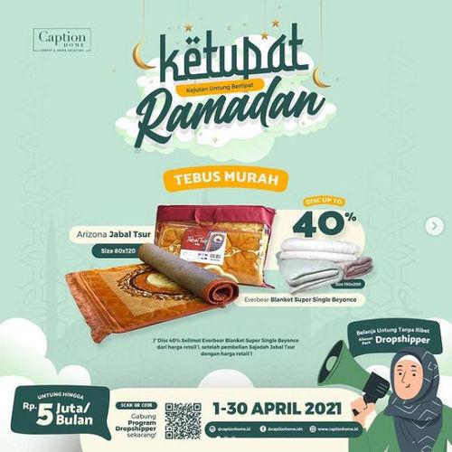 Caption Home Promo Ketupat Ramadhan (29952988) di Kota Jakarta Selatan