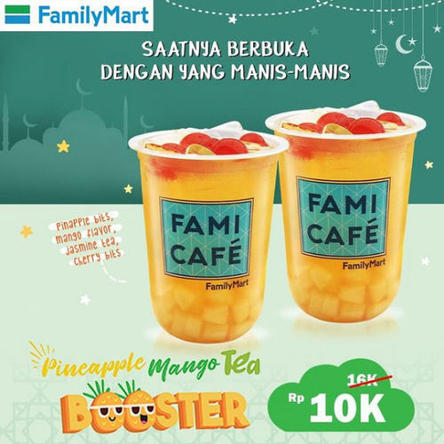 Family Mart Promo Pineapple Mango Tea Booster (29954842) di Kota Jakarta Selatan