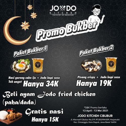 Jodo Kitchen Promo Bukber (29964465) di Kota Jakarta Selatan