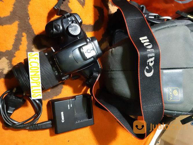 Kamera DSLR Canon 1100D + Lensa Kit EFS 18-55mm (29970726) di Kota Jakarta Selatan
