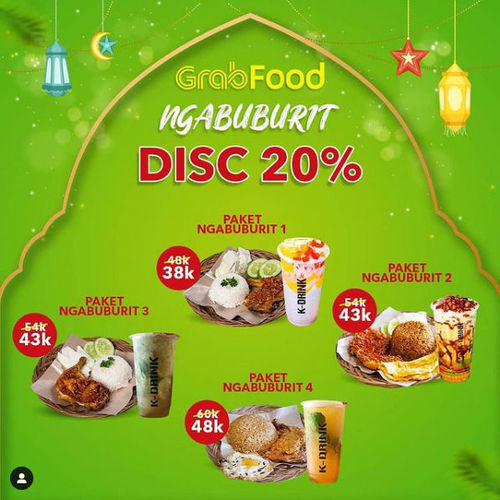 KDrink Ngabuburit Disc 20% (29976600) di Kota Jakarta Selatan