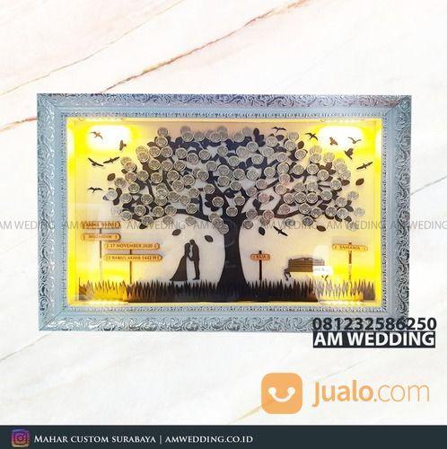 Mahar Pernikahan Bentuk Pohon Uang Koin Pakai Lampu (29979489) di Kab. Sidoarjo