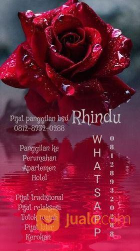 Pijat Panggilan Bsd Rhindu (29982884) di Kota Tangerang Selatan