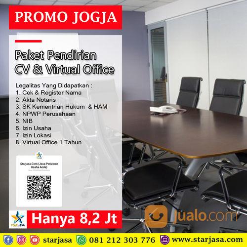 Jasa Pendirian CV + Virtual Office Yogyakarta Pembuatan CV + VO Jogja (29984999) di Kab. Bantul