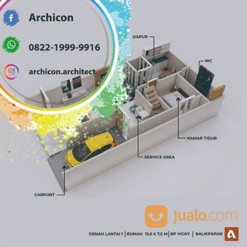 Jasa Arsitek Bojonegoro|Desain Rumah Bojonegoro (30020880) di Kab. Bojonegoro