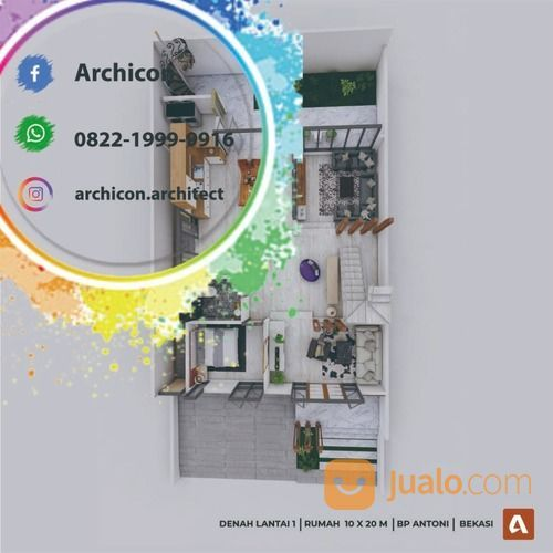 Jasa Arsitek Bojonegoro|Desain Rumah Bojonegoro (30020881) di Kab. Bojonegoro