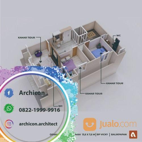 Jasa Arsitek Bojonegoro Desain Rumah Bojonegoro (30020882) di Kab. Bojonegoro