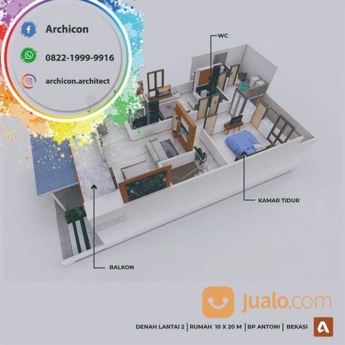 Jasa Arsitek Bojonegoro|Desain Rumah Bojonegoro (30020883) di Kab. Bojonegoro