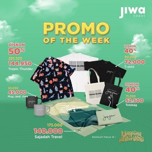 JIWA TOAST PROMO OF THE WEEK !! (30023658) di Kota Jakarta Selatan