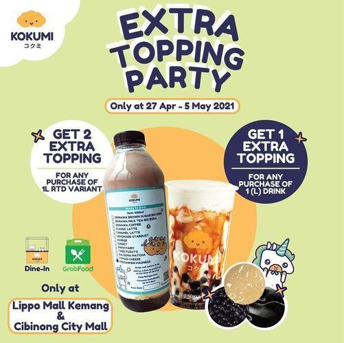 KOKUMI extra topping party !! (30023667) di Kota Jakarta Selatan
