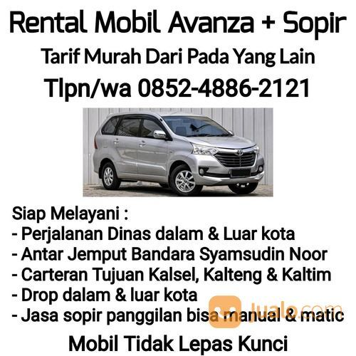 Tarif Murah Rental / Carter Mobil Grand New Avanza + Sopir (30036257) di Kota Banjarmasin
