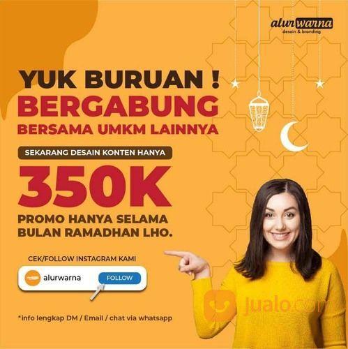 Jasa Desain Feed Instagram Murah (30042559) di Kota Surabaya