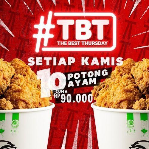 KFC THE BEST THURSDAY hadir kembali! (30048535) di Kota Jakarta Selatan