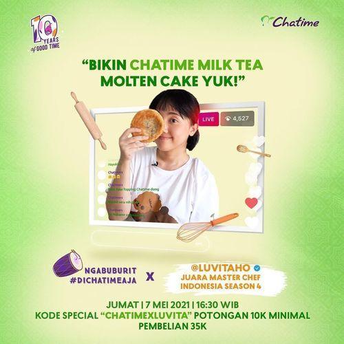 Chatime Ngabuburit di minggu terakhir puasa? #DiChatimeAja! (30048967) di Kota Jakarta Selatan