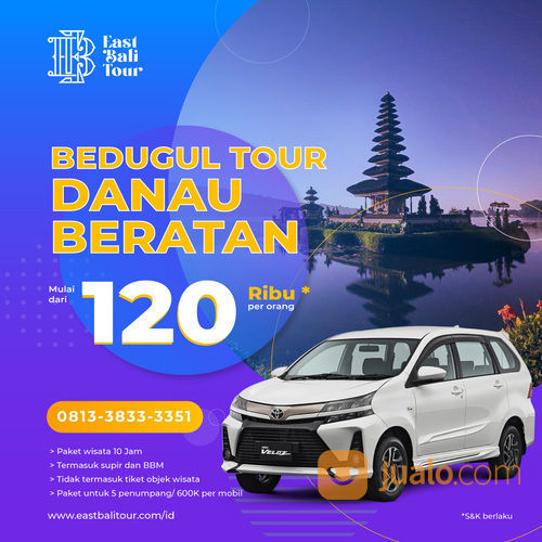 PAKET DAY TOUR - PURA ULUN DANU - BEDUGUL (30051552) di Kab. Badung