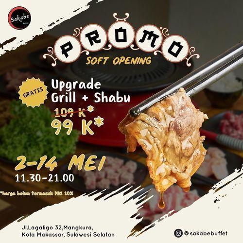 Sakabe Buffet - Soft Opening Sakabe Buffet Lagaligo!!! (30053852) di Kota Jakarta Selatan
