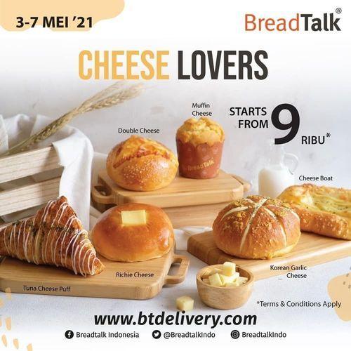 BreadTalk CHEESE LOVERS is Back! (30054357) di Kota Jakarta Selatan