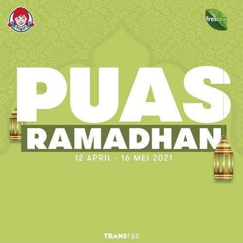 Wendy's promo PUAS Ramadhan (30059208) di Kota Jakarta Selatan