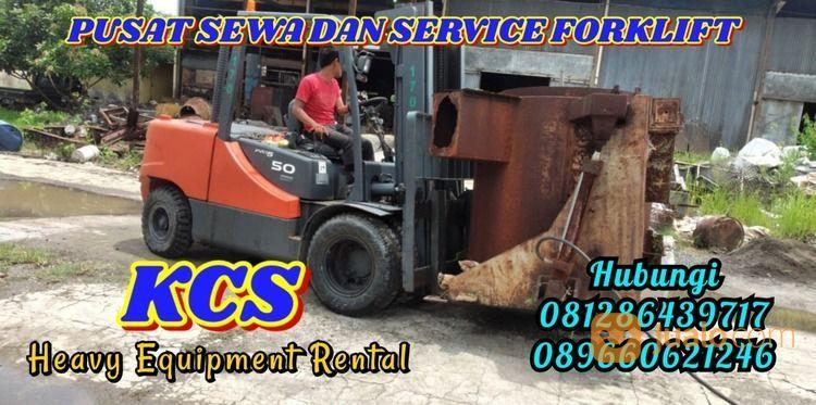SEWA DAN SERVICE FORKLIFT PANGKAH - TEGAL PT.KCS (30059520) di Kab. Cirebon