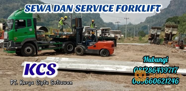SEWA DAN SERVICE FORKLIFT PANGKAH - TEGAL PT.KCS (30059521) di Kab. Cirebon