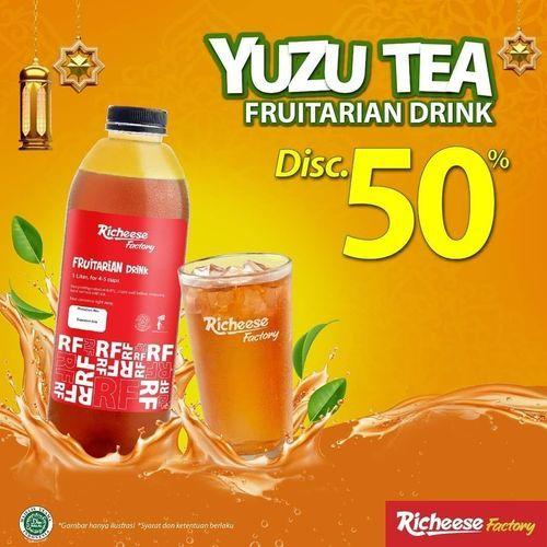 Richeese Factory DISKON 50% YUZU TEA MULAI RP. 5K! (30066257) di Kota Jakarta Selatan