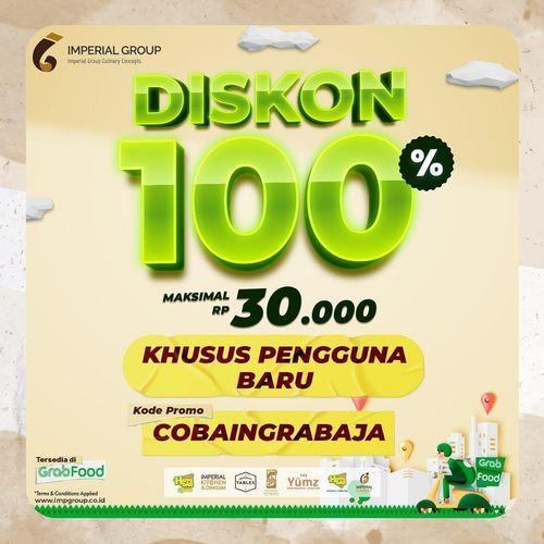 Imperial Kitchen & Dimsum diskon 100% (maks. Rp 30.000) khusus pengguna baru (30067703) di Kota Jakarta Selatan