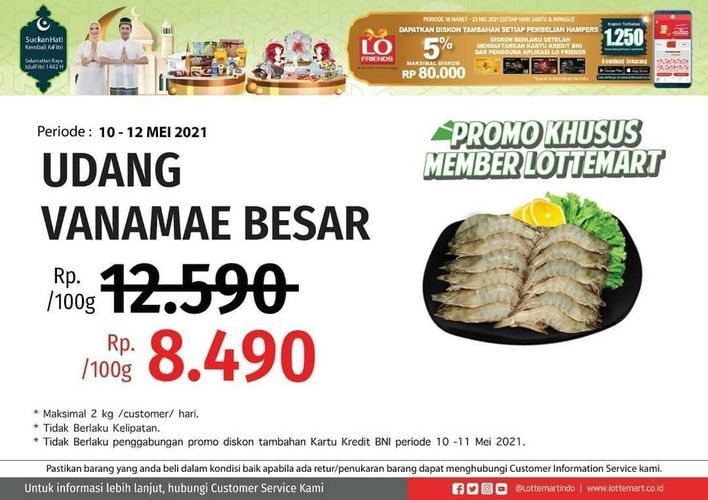 Lottemart Medan Centre Point Promo Khusus Member Lottemart (30067984) di Kota Medan