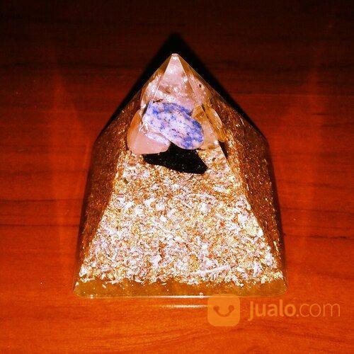 Orgonite Piramida 7 Chakra Biasa (30091428) di Kota Pontianak