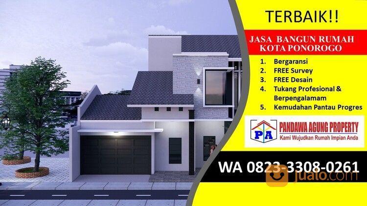 TERBARU | 0823-3308-0261 | Jasa Desain Gambar Rumah Di Ponorogo, PANDAWA AGUNG PROPERTY (30102183) di Kab. Ponorogo
