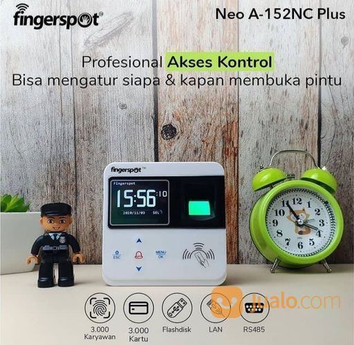 Alat Absensi Neo A 152 NC+ (30123925) di Kab. Jayawijaya