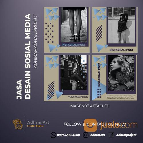 TERMURAH!! WA: 0857-4519-4608, Jasa Desain Banner Instagram Nganjuk (30130624) di Kab. Nganjuk