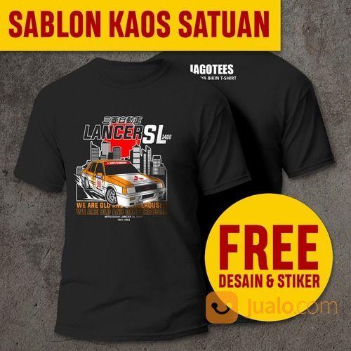 [FREE DESAIN] TEMPAT JASA SABLON KAOS SATUAN MURAH ACEH TAMIANG I JAGOTEES (30140303) di Kab. Aceh Tamiang