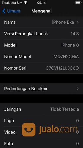 Iphone 8 Murah Second Like New (30171165) di Kota Jakarta Utara