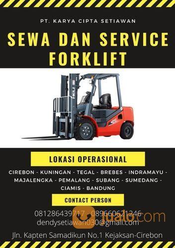 SEWA DAN SERVICE FORKLIFT MARGASARI - TEGAL PT.KCS (30172236) di Kab. Cirebon