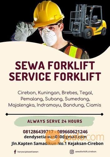 SEWA DAN SERVICE FORKLIFT WARUREJA - TEGAL PT.KCS (30177023) di Kab. Cirebon
