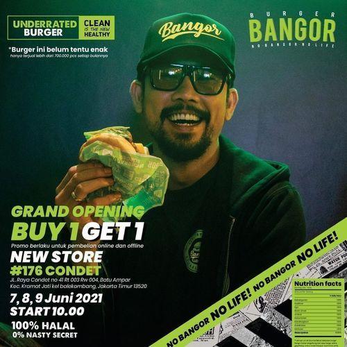Burger Bangor Condet Buy 1 Get 1 FREE'!! (30186106) di Kota Jakarta Timur