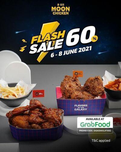 Moon Chicken by Hangry Flash sale 60 % (30186118) di Kota Jakarta Selatan