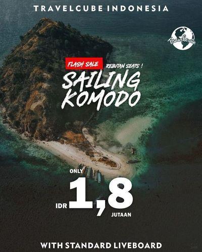 TRAVELCUBE INDONESIA Flash Sale Rebutan Seats !! Sailing Komodo !! (30186167) di Kota Jakarta Selatan