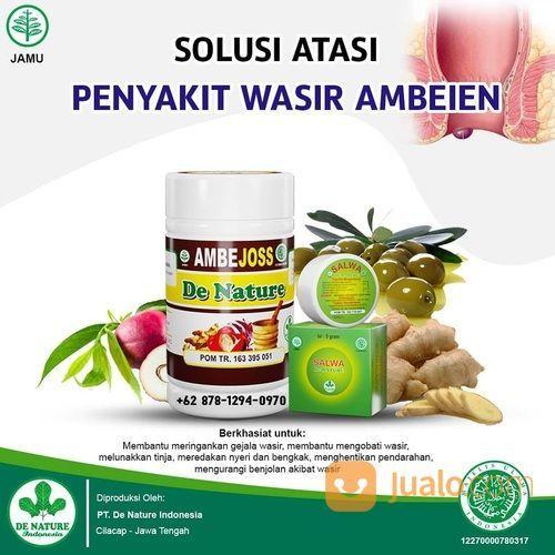 Nama Obat Wasir Ambeien Paling Laku Top Brand Resmi BPOM Bersertifikat ISO 9001 (30187855) di Kab. Brebes