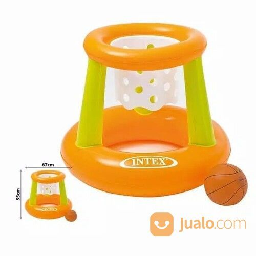 Basket Swimming Floating Hoops Basketball Game - INTEX 58504 (30191777) di Kota Jakarta Barat