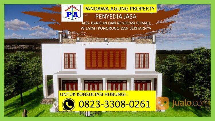 TERFAVORIT   0823-3308-0261   Jasa Desain Rumah Type 54 Di Ponorogo, PANDAWA AGUNG PROPERTY (30214479) di Kab. Ponorogo