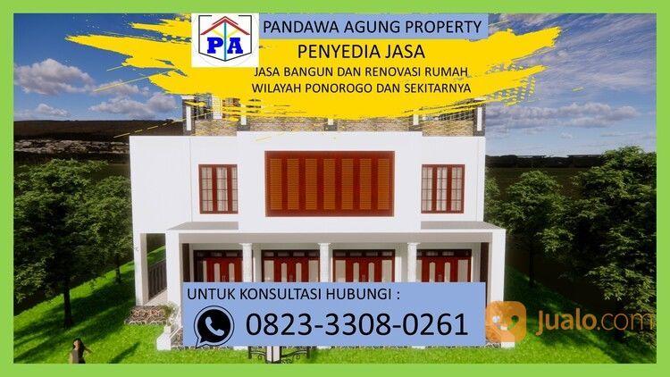 TERFAVORIT | 0823-3308-0261 | Jasa Desain Rumah Type 54 Di Ponorogo, PANDAWA AGUNG PROPERTY (30214480) di Kab. Ponorogo
