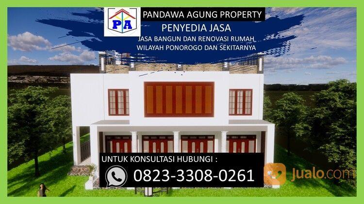TERFAVORIT   0823-3308-0261   Jasa Desain Rumah Type 54 Di Ponorogo, PANDAWA AGUNG PROPERTY (30214481) di Kab. Ponorogo