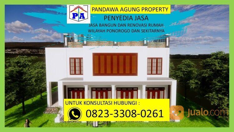 TERFAVORIT   0823-3308-0261   Jasa Desain Rumah Type 54 Di Ponorogo, PANDAWA AGUNG PROPERTY (30214482) di Kab. Ponorogo