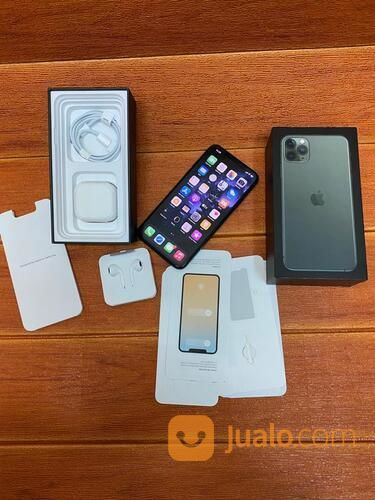 Iphone 11 Pro Max 512GB Fullset Asli Original (30232841) di Kota Jakarta Selatan